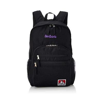 [ベンディビス] リュック XLサイズ メッシュポケット リュックサック 通勤通学に最適です (ブラックパープル Free Size)