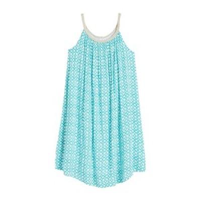 ニナレオナルド レディース ワンピース トップス Braided Strap Shift Dress BEACHSIDE/WHITE BEACH GEO