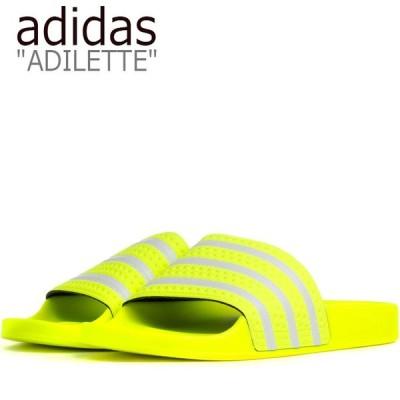 アディダス サンダル adidas メンズ レディース ADILETTE SANDAL アディレッタ サンダル YELLOW イエロー EE6182 シューズ