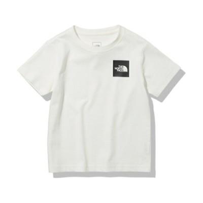 ノースフェイス (THE NORTH FACE) Tシャツ スモールスクエアロゴティー S/S Small Square Logo Tee ジュニア(21ss) ホワイト NTJ32141-W