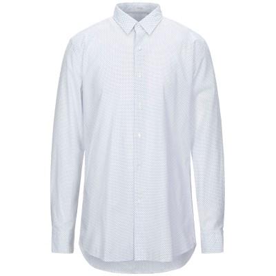 HIMON'S シャツ ホワイト 43 コットン 100% シャツ