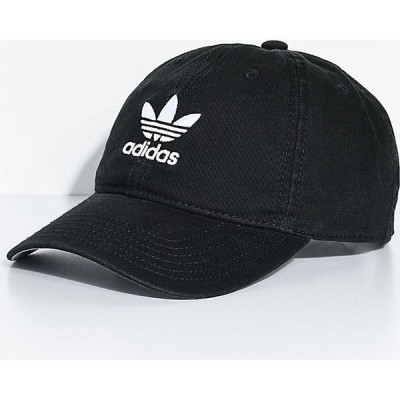 アディダス ADIDAS レディース キャップ スナップバック 帽子 adidas Black Strapback Hat Black