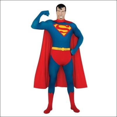 ハロウィンコスチューム スーパーマンセカンドスキンスーツ Superman 2nd Skin Suit