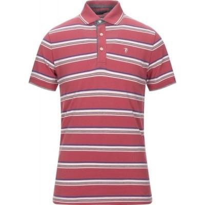 トラサルディ TRUSSARDI JEANS メンズ ポロシャツ トップス Polo Shirt Brick red