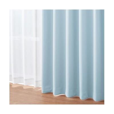 選べる30色!(ペールトーン)/遮光・防炎カーテン&遮熱・防炎・昼間見えにくい・UVカットレースセット カーテン&レースセット, Curtains, sheer curtains, net curtains(ニッセン、nissen)