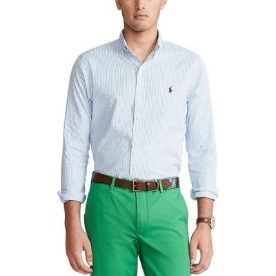 ラルフローレン メンズ シャツ トップス Classic-Fit Stripe Oxford Long-Sleeve Woven Shirt