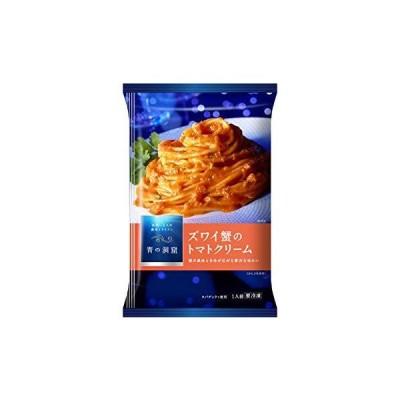 冷凍日清フーズ 青の洞窟 ズワイ蟹の トマトクリーム X6袋