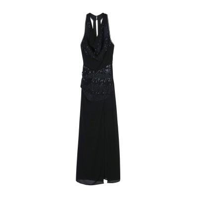 パトリティア ペペ セーラ PATRIZIA PEPE SERA ロングワンピース&ドレス ブラック 42 ポリエステル 100% ロングワンピース