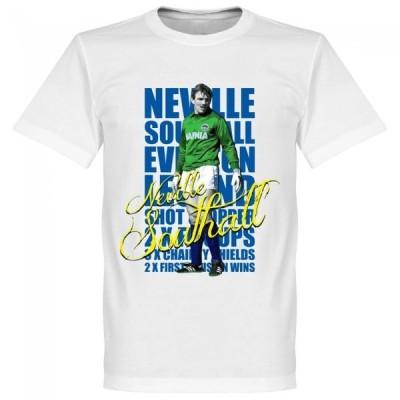 エバートン ネヴィル・サウスオール Tシャツ SOCCER レジェンド サッカー/フットボール ホワイト