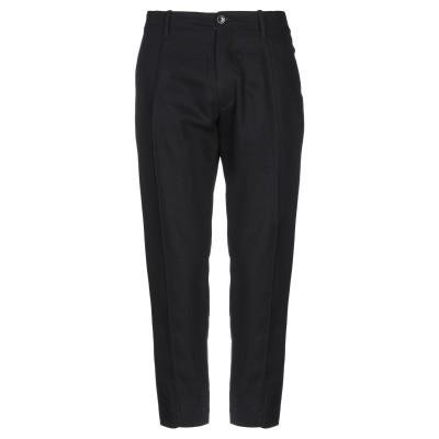 NINE:INTHE:MORNING パンツ ブラック 44 コットン 100% パンツ
