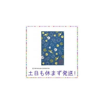かえるのピクルス 御朱印帳 睡蓮 ネイビー ST-TPC0002
