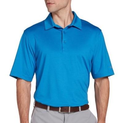 ウォルター・ヘーゲン シャツ トップス メンズ Walter Hagen Men's 11 Majors Championship Stripe Golf Polo NobilityBlue