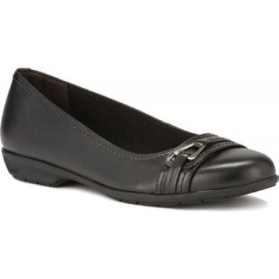 ウォーキング クレードル Walking Cradles レディース スリッポン・フラット バレエシューズ シューズ・靴 Flynn Ballet Flat Black Leather