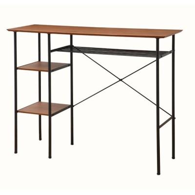 カウンターテーブル バーテーブル ダイニング 食卓 レトロ ダイニングテーブル 作業台 1人暮らし☆IB−VV