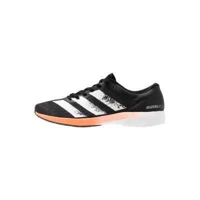 アディダス シューズ メンズ ランニング ADIZERO RC 2 - Competition running shoes - core black/footwaer white