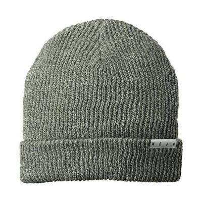 Neff ヘザー折り返しカフ付きビーニー帽 ユニセックス ベストソフト 冬用帽子 キャップ US サイズ: One Size