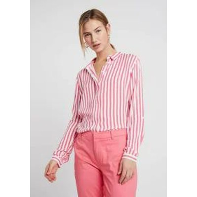 byoung レディースブラウス byoung FABIANNE STRIPE - Button-down blouse - sunkist coral
