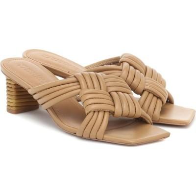 メルセデス カステロ Mercedes Castillo レディース サンダル・ミュール シューズ・靴 tatiana leather sandals Beige