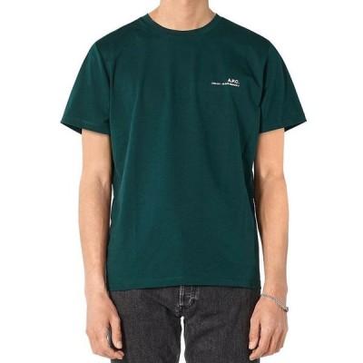 アーペーセー メンズ Tシャツ トップス Cotton Logo Graphic Tee