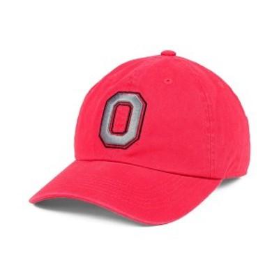 トップ・オブ・ザ・ワールド メンズ 帽子 アクセサリー Ohio State Buckeyes Crew Easy Adjustable Cap Red