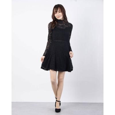 ゲス GUESS ODESSA DRESS (JET BLACK W/ FROST GREY)