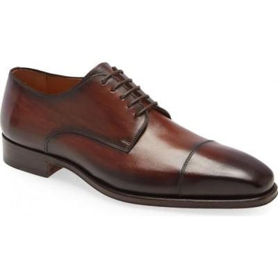 マグナーニ MAGNANNI メンズ 革靴・ビジネスシューズ ダービーシューズ シューズ・靴 Lyle Cap Toe Derby Tabaco