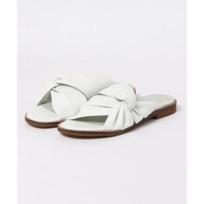 サンダル mie scarpe/ターバンサンダル