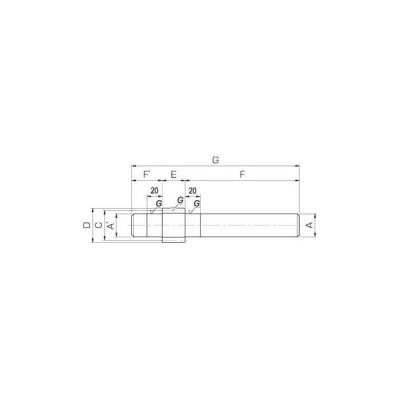 SSGS 軸付歯研平歯車 小原歯車工業(KHK) SSGS1.5-10