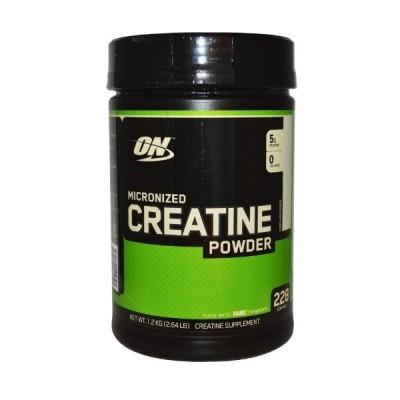 【送料無料】Optimum Nutrition,クレアチンパウダー、微粉化、無香料、1.2kg