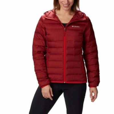 コロンビア Columbia レディース ダウン・中綿ジャケット アウター Lake 22 Down Hooded Jacket Beet/Red Lily
