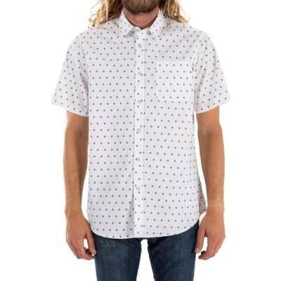 ケイティン Katin メンズ 半袖シャツ トップス mission short-sleeve shirt White