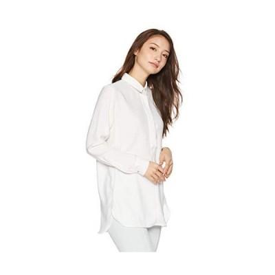 ナラ カミーチェ ジョーゼットチュニックシャツ レディース 10-82-01-038 ホワイト 日本 M (日本サイズ9 号相当)