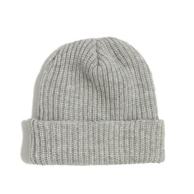 ジェイクルー J.Crew メンズ Men's ニット帽 Knit Hat ライトグレー Light Grey