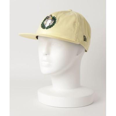 NAUGHTIAM / 【NEW ERA/ニューエラ】RC 9FIFTY FACE フェイス ガールアートワーク ベイビーイエロー × マルチカラー WOMEN 帽子 > キャップ