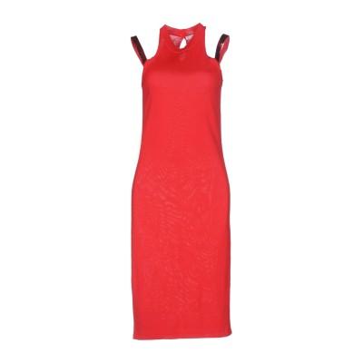 VERSACE COLLECTION ミニワンピース&ドレス レッド 40 レーヨン 88% / ウール 12% ミニワンピース&ドレス