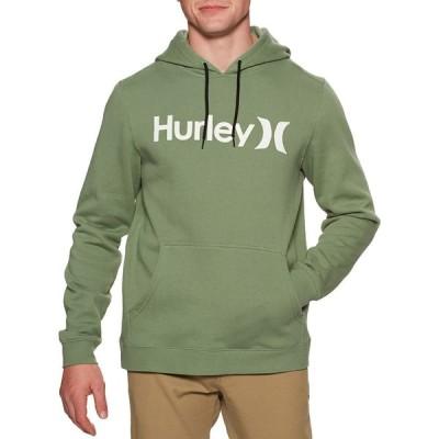 ハーレー Hurley メンズ パーカー トップス One & Only Pullover Hoody Spiral Sage