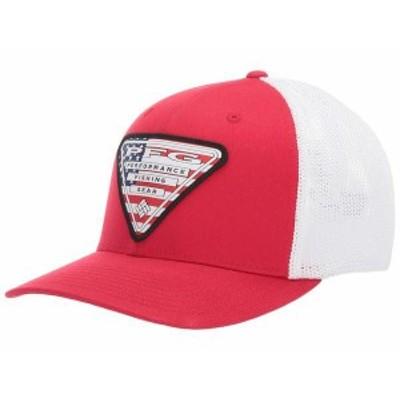 コロンビア メンズ 帽子 アクセサリー PFG Mesh Stateside Mountain Red/US
