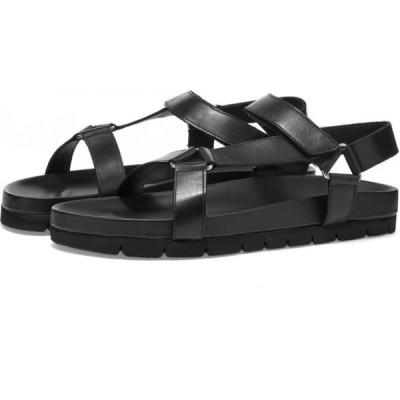グレンソン Grenson メンズ サンダル シューズ・靴 lyndon sandal Black Calf