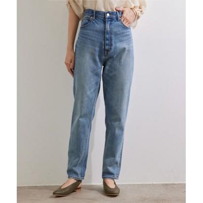 ROPE' / 【21AW】【一部WEB限定】【セットアップ対応】ストレッチデニムハイウエストテーパードパンツ WOMEN パンツ > デニムパンツ