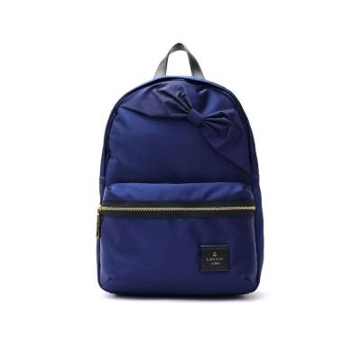 (LANVIN en Bleu/ランバン オン ブルー)ランバンオンブルー リュック LANVIN en Bleu バッグ トロカデロ リュックサック デイパック A4 ナイロン リボン レディース 480210/レディース ネイビー
