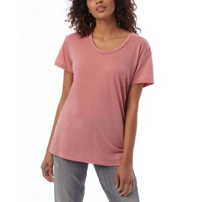 オルタナティヴ アパレル レディース シャツ トップス Kimber Slinky Jersey Women's T-shirt