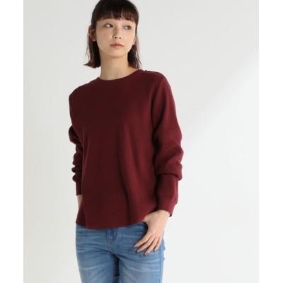 Honeys / ワッフルクルーネックT WOMEN トップス > Tシャツ/カットソー