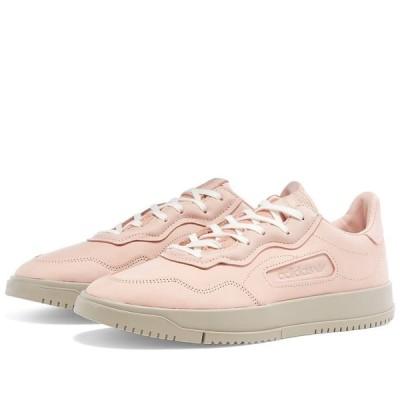アディダス Adidas レディース スニーカー シューズ・靴 SC Premiere W Pink/Light Brown