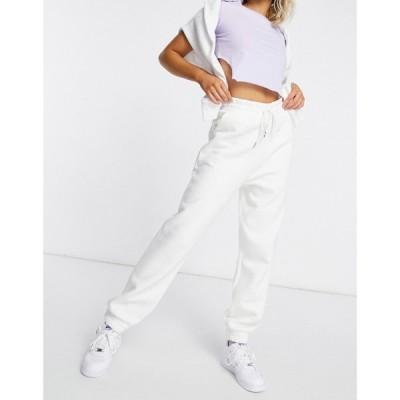 エイソス ASOS DESIGN レディース ジョガーパンツ ボトムス・パンツ super oversized jogger in winter white ウィンターホワイト