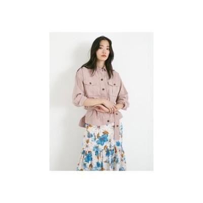 ドロシーズ DRWCYS グラインダーワークシャツジャケット (ピンク)