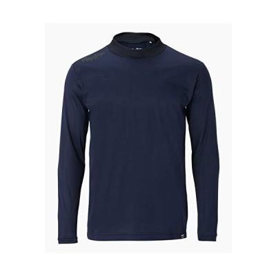 ローリングス(Rawlings) 野球用 大人用 モックネックロングスリーブシャツ 長袖 AST10F02 ネイビー サイズ L