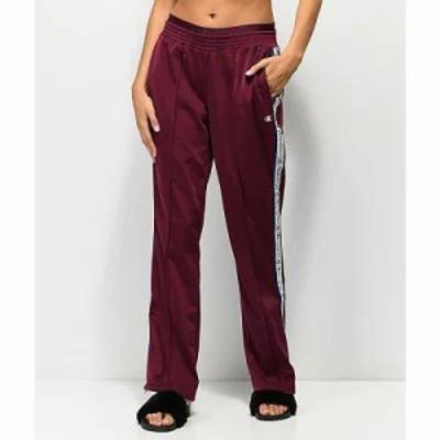 チャンピオン スウェット・ジャージ Burgundy Track Pants Dark purple