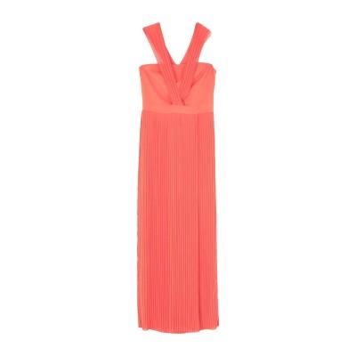 HH COUTURE ロングワンピース&ドレス オレンジ M ポリエステル 100% ロングワンピース&ドレス