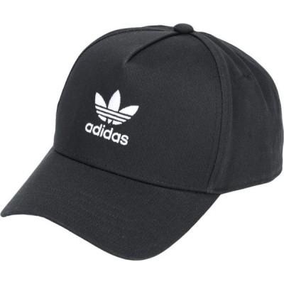 アディダス ADIDAS ORIGINALS レディース 帽子 ac clsd trk crv Black