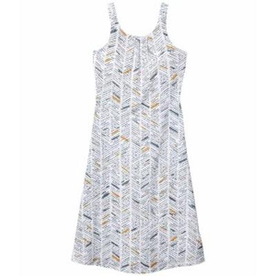 プラーナ レディース ワンピース トップス Skypath Dress White Sketch
